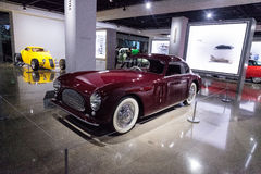 Red 1947 Cisitalia 202 coupe Royalty Free Stock Images