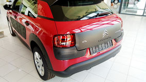 Red  citroen cactus car -close up Royalty Free Stock Photo