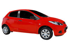 Red city car Stock Images