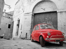 Red Classic Car. Stock Image