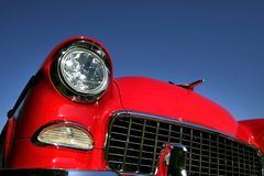 Red Classic Car Royalty Free Stock Image