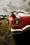 Red Classic Car Stock Images