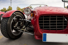 Red Classic Car Stock Photography