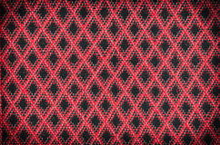 Red classic checkered  texture, background with copy space Royalty Free Stock Photography