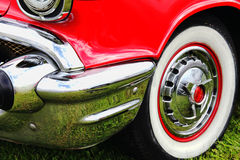 Red classic collectors car Stock Photo