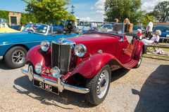 Red Classic MG TF Royalty Free Stock Photo