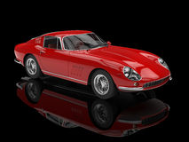 Red classic sports car Stock Photography