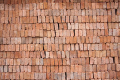 Red clay block Stock Image