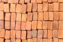 Red clay brick Royalty Free Stock Image