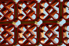 Gothic architecture pattern detail stock photo image - Brique decorative blanche ...