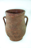 Red clay pot Royalty Free Stock Image