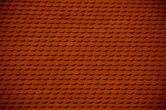 Red clay roof tile Royalty Free Stock Photos