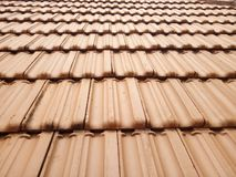 Free Red Clay Roof Tiles Texture Pattern Stock Images - 154622164