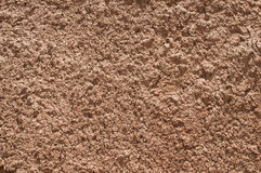 Red clay soil closeup Royalty Free Stock Photo