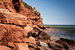 Red Cliff Royalty Free Stock Photo