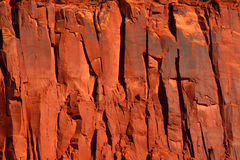 Red Cliff Background Royalty Free Stock Photo