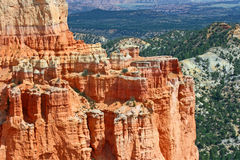 Red cliffs in Bryce Canyon Royalty Free Stock Images