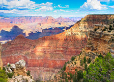 Red cliffs, Grand Canyon, South Rim, Arizona Stock Photo