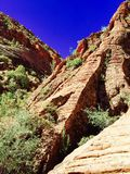 Red cliffs - hurricane Utah Royalty Free Stock Photo
