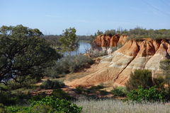 The Red Cliffs Stock Images