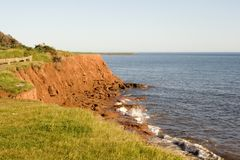 Red Cliffs Of PEI Royalty Free Stock Image