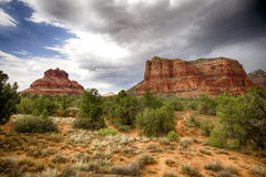 Red cliffs of Sedona in Arizona Royalty Free Stock Photo