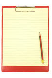 Red Clipboard Royalty Free Stock Images