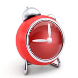 Red clock Royalty Free Stock Photos