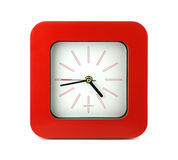 Red clock Stock Images
