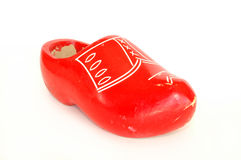 Red Clog Royalty Free Stock Image