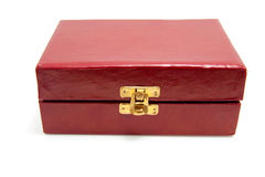 Red closed box Royalty Free Stock Photo