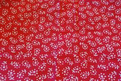 Red cloth Royalty Free Stock Photos