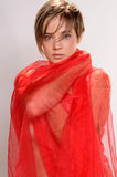Red cloth Royalty Free Stock Image