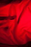 Red cloth background Royalty Free Stock Image