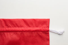 Red cloth bags Royalty Free Stock Photography