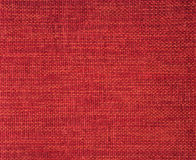 Red cloth fabric. Background close up Royalty Free Stock Photography