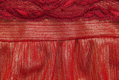 Red cloth Stock Images