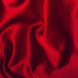 Red cloth of silk satin Stock Images
