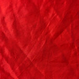 Red cloth texture as background Stock Image