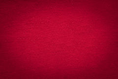 Red cloth texture with black gradient vignette, christmas and va Royalty Free Stock Photo