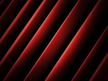 Red cloth waves Stock Photography