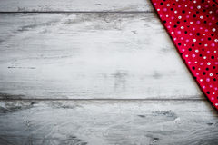 Red cloth Stock Image