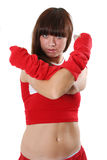 Red clothes Royalty Free Stock Photography