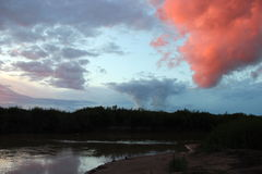 Red cloud Stock Images