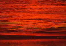 Red Clouds On Sunrise Sky Stock Images