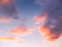 Red cloudscape Royalty Free Stock Photos