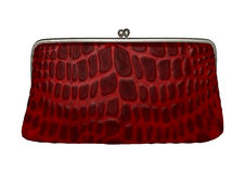 Red Clutch Stock Images