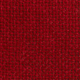 RED COARSE WEAVE FABRIC BACKGROUND Royalty Free Stock Photography