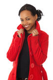 Red Coat Royalty Free Stock Photography
