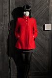 Red coat Stock Photo